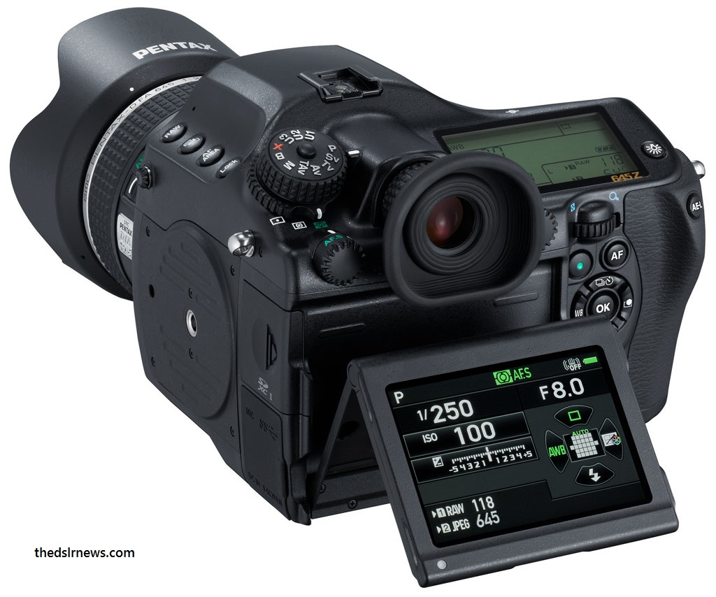 10 Most Expensive DSLR Cameras in 2017. Pentax 645Z